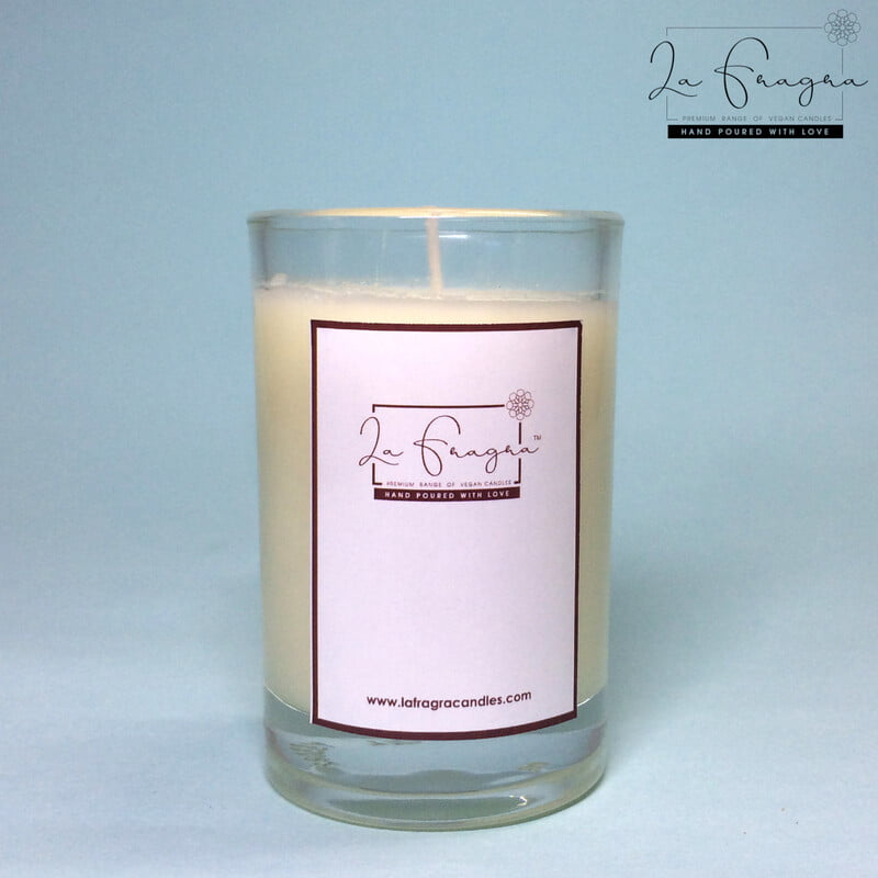 Scented Prayer Candle - Short Glass